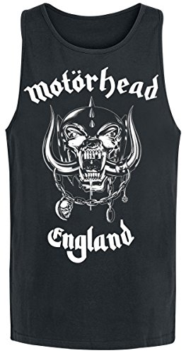 Motörhead England Camiseta Tirantes Negro M