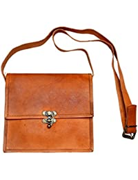 AD Passion Leather Stylish Sling Bag For Women And Girls (Brown)