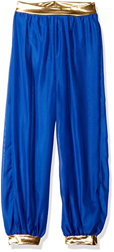 Princess Desert Kostüm - Desert Princess Haram Costume Pants Blue Adult Women Standard