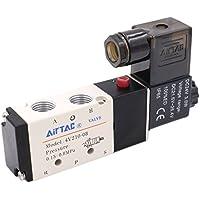 heschen Elektro-Pneumatische Magnetventil 4V210–0824VDC 3W PT1/45Way 2Position CE