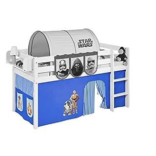 Vorhang Star Wars Blau - für Hochbett, Spielbett und Etagenbett