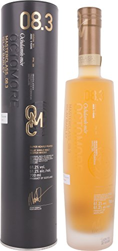 Octomore Bruichladdich Edition 8.3 Masterclass Islay Barley 309 ppm mit Geschenkverpackung Whisky (1 x 0.7 l)