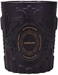 Pañpuri Bougie 100% Naturelle Leather Hours/Senteur Boisée/Fumée