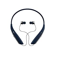db4fa033272 37%off LG Tone Ultra HBS-820 Bluetooth Wireless Stereo Headset - Navy Blue
