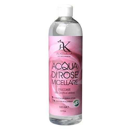 Alkemilla Detergenti Tonico Viso Acqua di Rose Micellare - 500 Ml