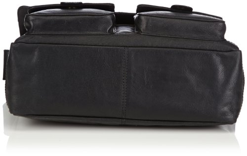 Bruno Banani  Shoulder bag, Sacs messenger mixte adulte Noir - Noir