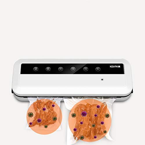 MENH Vakuumierer Vakuumiergerät automatische Lebensmittel Versiegelung für Trockene bleiben vakuumiert bis zu 8X länger frisch Vakuumier Geräte Folienschweißgeräte Vakuumiermaschine