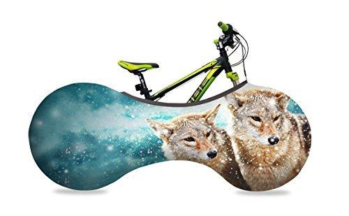 VELOSOCK pour enfantshouse d'intérieur pour vélo-WOLVES -6 à 8 ans -La meilleure solution pour garder votre intérieur propre -FREE