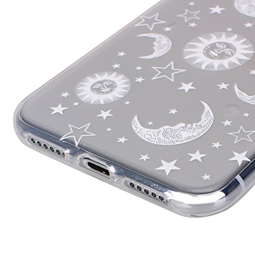iPhone X Hülle, Asnlove 2 Pack Case Silikon TPU Schale Transparent Durchsichtig [Ultra Dünn] Klar Weiche Bumper-Style Handyhülle Premium Schutzhülle für iPhone X / iPhone 10 5.8 Zoll 2017 Case Cover - Style-2