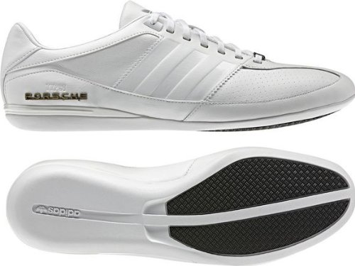 G63121|Adidas Porsche Typ 64 White|44 2/3 UK - Schuhe Porsche Männer