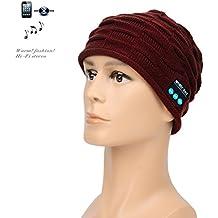 Nuevas Tendencias Micrófono inalámbrico de Bluetooth Beanie gorro de música con deportes de invierno essential Cap ¡