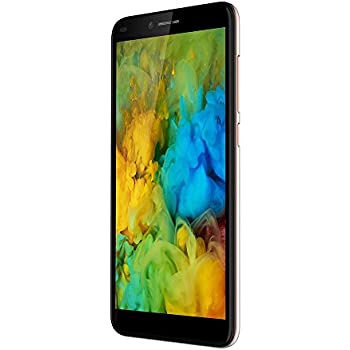 SIM Free Mobile Phones, DING DING X10 5 34 inch high definition big screen  8GB ROM MT6580 Quad-Core Android 7 0 3200mAh Smartphone (Gold)