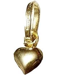 543c772743e6 Amazon.es  colgante corazon oro - 20 - 50 EUR   Pendientes   Mujer ...