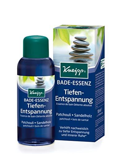 Kneipp Bade-Essenz Tiefenentspannung mit Patchouli und Sandelholz, 100 ml
