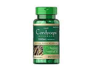 Cordyceps champignon 750 mg Dong Chong Xia Cao 60 capsules
