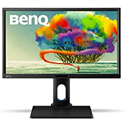 "BenQ BL2420PT - Monitor para Diseñadores de 23.8"" (2K QHD, 2560x1440, 100% sRGB, Rec. 709, IPS, modo CAD, Low Blue Light , Flicker-free, Altura y Rotación Ajustable), Color Negro"