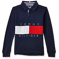 Tommy Hilfiger Boys Polo, Blue (Black Iris), 92