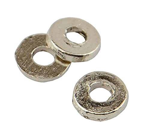 50pcs Metal Round Flat Spacers (59004-217)
