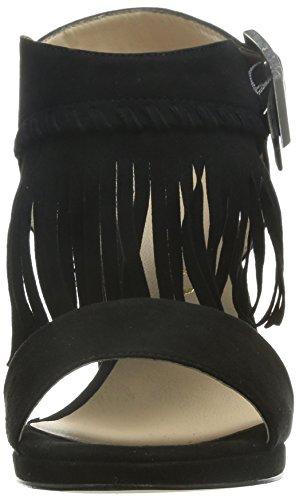 Unisa Noir   franges Sandaletten Noir - Noir