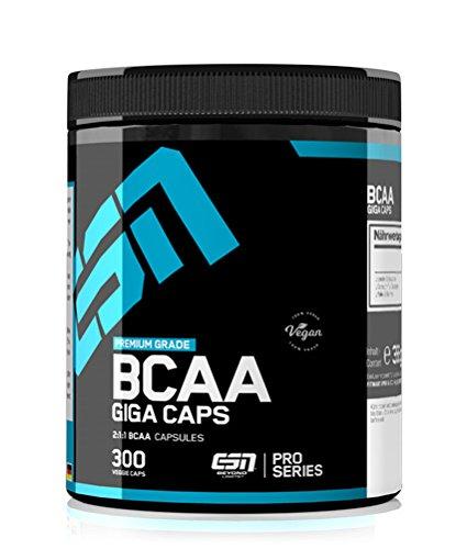 #ESN BCAA GIGA CAPS, 300 Kaps.#