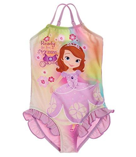 Disney Sofia die Erste Mädchen Badeanzug - violett - 128