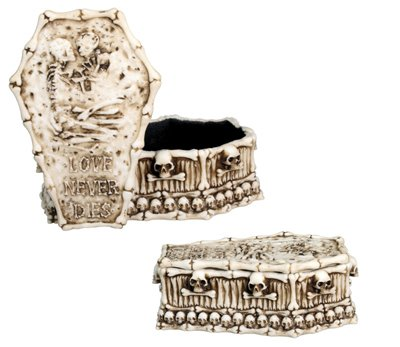 stealstreet Skelett Love Box Collectible Totenkopf Dekoration Gothic Container