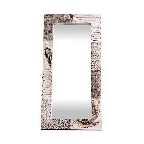 Lohoart L-1221-2 - Espejo Sobre Lienzo Pintado Artesanal