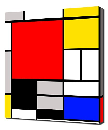 Piet Mondrian - 26 - High Quality Reproduction Canvas Art Print