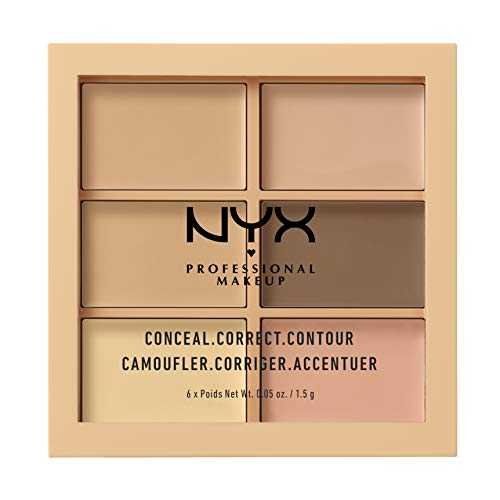 NYX Conceal Correct Contour Palette in Light by NYX