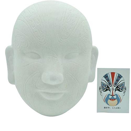 Aida Bz Chinesische Peking Oper DIY Maske, Party Maske Halloween Maske Kostümparty,D