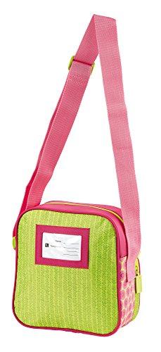 sigikid, Mädchen, Kinder Umhängetasche, Kindergartentasche, Blumenfee, Florentine, Pink/Grün, 24451 Kindergartentasche / Florentine