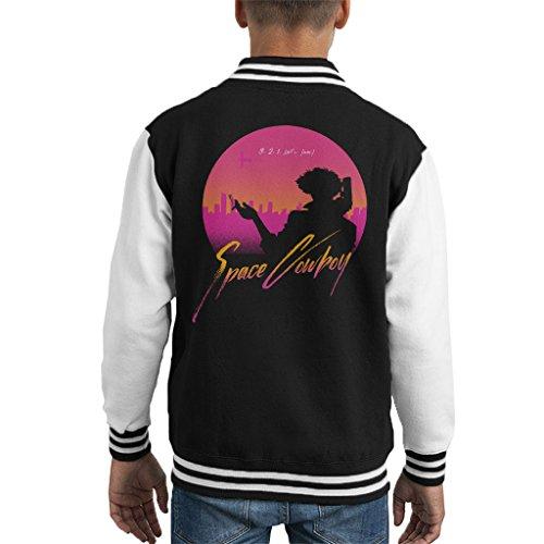 3 2 1 Lets Jam Cowboy Bebop Kid's Varsity Jacket (Jam 11 Space Kids)