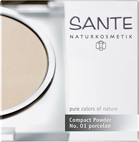Santé - 2008comp01 - Maquillage - Fonds de Teint et Poudres - Poudre Compacte N°01 Porcelaine - 9 g