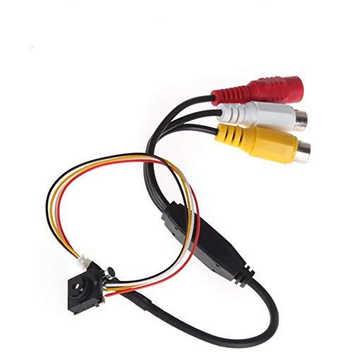 """ePathChina® 5 Mega Pixel Kleinste Taste Pinhole Spy Video Kamera Überwachungskamera Mini Kameras Mit 600TVL 1 / 4\"""" HD Sensor für ATM-, Juwelier-, Finanz-Zimmer"""