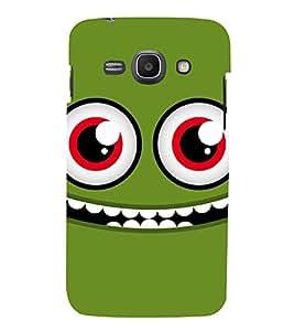PrintVisa Designer Back Case Cover for Samsung Galaxy Ace 3 :: Samsung Galaxy Ace 3 S7272 Duos :: Samsung Galaxy Ace 3 3G S7270 :: Samsung Galaxy Ace 3 LTE S7275 (Cartoon Eyes)