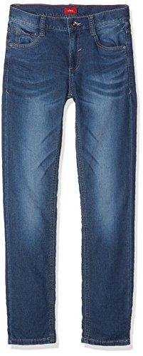 s.Oliver Jungen Jeans 61.709.71.3009 Blau (Blue Denim Stretch 56Z2), 158 (Herstellergröße: 158/SLIM)