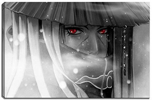 Photo Naruto Itachi sur Toile Format: 60 cm x 40 cm. Impression d'art de haute qualité comme une fresque. Moins cher qu'une peinture à l'huile! ATTENTION! Aucune affiche