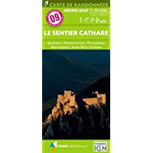 Le sentier cathare : 1/50000
