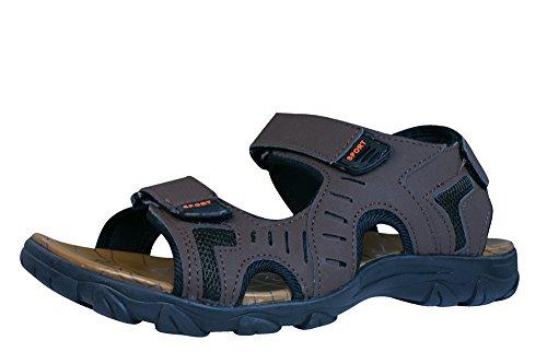 Woodys Double Velcro Sandales Hommes Marron