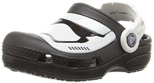 Crocs cc stormtrooper clog k mlt, sandali punta chiusa unisex - bambini, multicolore, 24-26