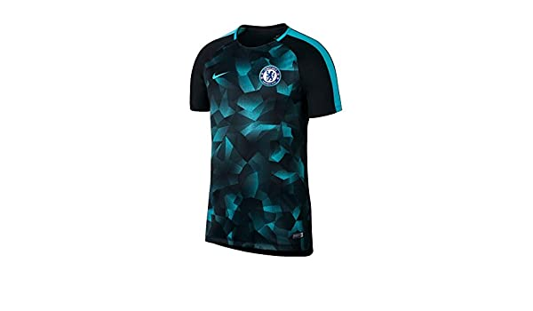 9722d3af9ac 2017-2018 Chelsea Nike Dry Squad Training Shirt (Black) - Kids ...