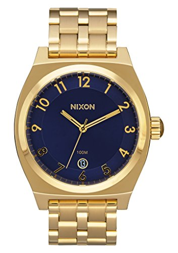 nixon-monopoly-color-all-gold-navy-size-one-size