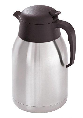 Bartscher - Jarra térmica para cafeteras (2 l, acero inoxidable)