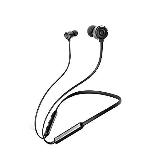 Taotuo 4.1 Bluetooth Funk-Kopfhörer Sport Noise Cancelling Kopfhörer magnetisch Wasserfeste Nackenbügel Leicht-Headset Kompatibel für iOS iphone ipad, Android Galaxy LG Huawei