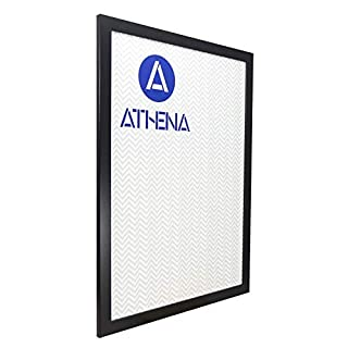 Athena Wide Matt Black Picture Photo Frame, A1 Size, 59.4 x 84 cm