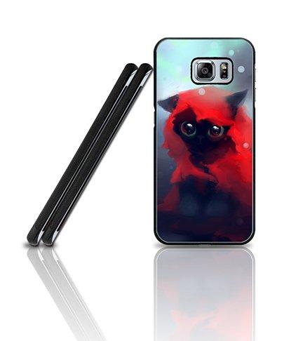 Cool Custodia Case For Galaxy S6 Edge Plus, Film Red Riding Hood Anti Dust Exclusive + Vintage Pretty Design Drop Prottetiva Plastic Tough Back Skin Custodia Case For Samsung Galaxy S6 Edge Plus [Only Fit for S6 Edge