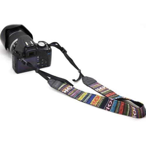 zewoo-kameragurt-n0101-retro-aztec-tribal-streifen-fur-alle-slr-dslr-digitalkamera-schultergurt-neck