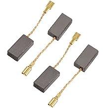 4 piezas Amoladora angular eléctrica 15 mm x 8 mm x 5 mm escobillas de carbono