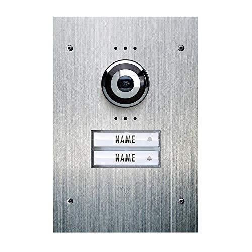 m-e modern-electronics Vistadoor VDV 920 Video-Türsprechanlage Kabelgebunden Außeneinheit 2 Famili