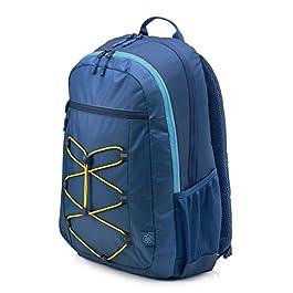 HP Active Zaino per Notebook fino a 15.6″, Blue/Giallo